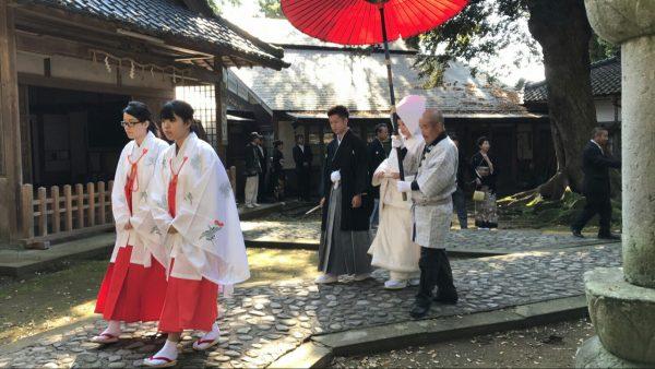 三国神社結婚式