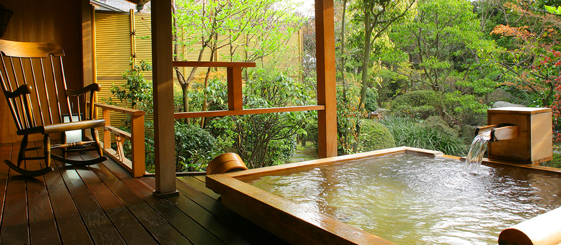 Private In-Room Onsen